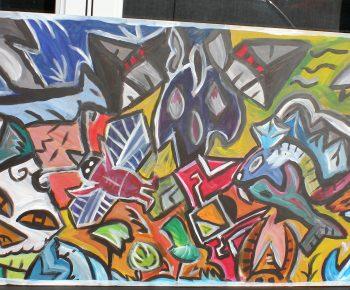 Peinture Awesome du 19 juillet 2015