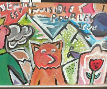 Toile Petit Prince
