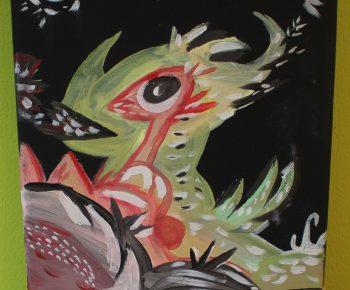 Petit Dragon de montagne