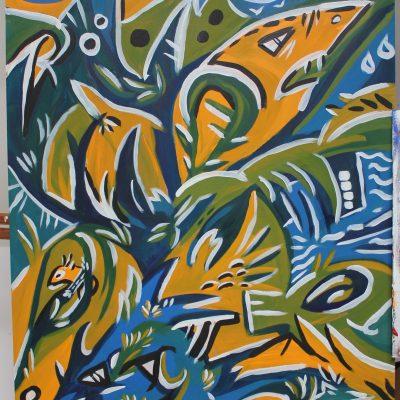 le requin jaune
